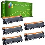 Printing Pleasure 5 compatibles Tn2320 Cartouches de Toner Noir, Grande Capacité