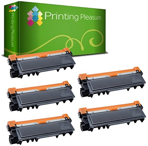 165 opinioni per 5 Toner Compatibili Brother TN2320 Cartuccia Laser per Brother HL-L2300D