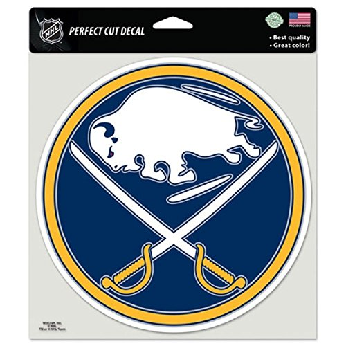 (WinCraft NHL Buffalo Sabres Die-Cut Color Decal, 8