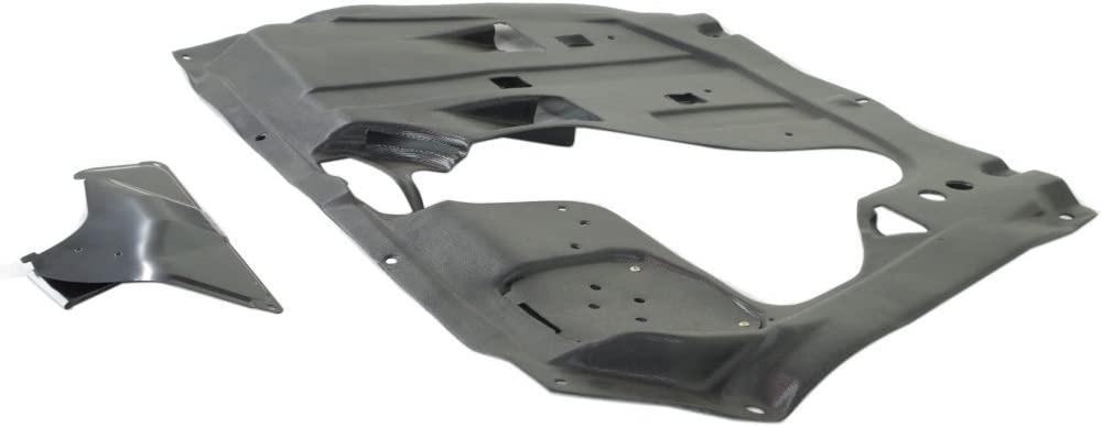 Engine Splash Shield Plastic Engine Under Cover Center Compatible with Toyota Highlander