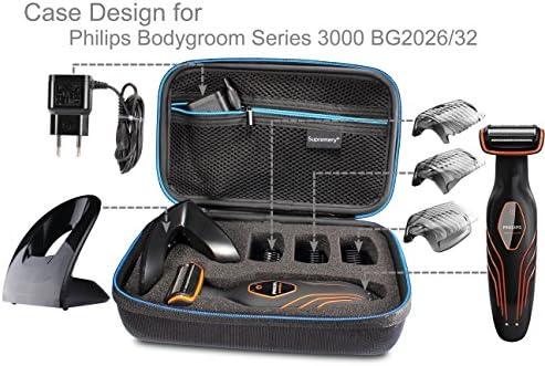 Supremery Bolsa para Philips Bodygroom Serie 3000 BG2026/32 Caja ...