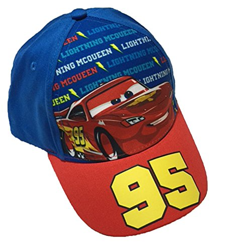Disney Cars Lightning McQueen Little Boys Toddler Baseball Hat