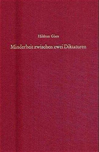 Minderheit Zwischen Zwei Diktaturen: Zur Geschichte Der Juden in Rumänien 1944-1949
