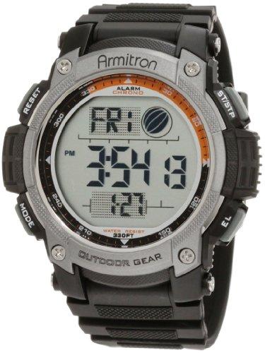 Armitron Sport Mens 40/8252BLK Black Digital Chronograph Watch