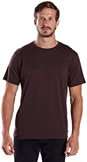 product image for US Blanks Men's 4.3 Oz. Short-Sleeve Crewneck S Brown