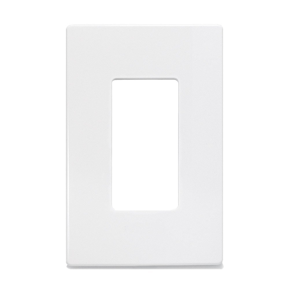 two 2 insteon 2422 222 screwless wall plate single gang white new in package ebay. Black Bedroom Furniture Sets. Home Design Ideas