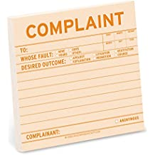 Knock Knock Sticky Notes, Complaint