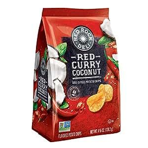 Amazon Com Red Rock Deli Red Curry Coconut Flavored Deli