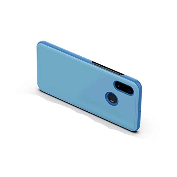 Amazon com: Smart Mirror Flip Phone Case for Xiaomi Redmi