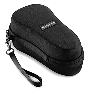 Caseling Hard Case for Amope Pedi Perfect Wet and Dry Rechargeable Foot File (Case Only)