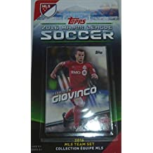 Toronto FC 2016 Topps MLS Soccer Factory Sealed 11 Card Team Set with Jozy Altidore and Sebastian Giovinco Plus
