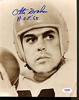 Otto Graham Signed 8x10 Photo Autographed Browns PSA/DNA AC65979