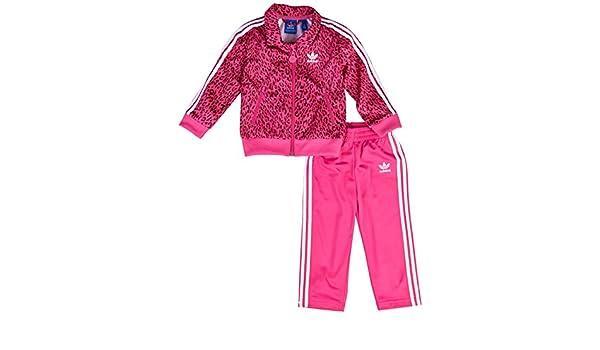 f6da11535 adidas Trainingsanzug Cheetah Firebird - Chándal de Fitness para niño:  Amazon.es: Ropa y accesorios