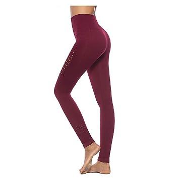 f18d178bac8d BESTSOON Women s High Waist Yoga Pants Women s High Waist Hollow Yoga Pants  Tummy Control Workout Running