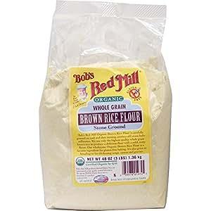 Amazon.com : Bob's Red Mill Organic Rice Flour Brown, 48