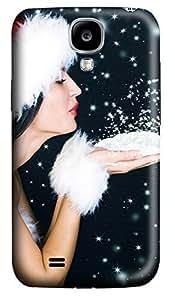 Samsung S4 Case Christmas Snow Powder135 3D Custom Samsung S4 Case Cover