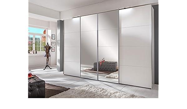 BOMBAY - Armario con puertas correderas (270 cm), color blanco: Amazon.es: Hogar