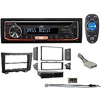2003-2005 Honda Pilot 1-Din JVC CD Player Receiver USB/AUX/MP3 3-Band Eq+Remote