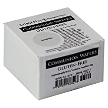 Communion Wafers, Gluten-Free Box Of 50