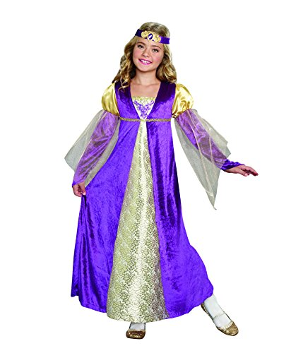 SugarSugar Girls Royal Princess Costume, One Color, X-Small, One Color, X-Small