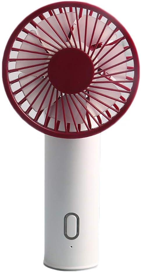 FQYFS Mini ventilador USB, ventilador de mano recargable y ...