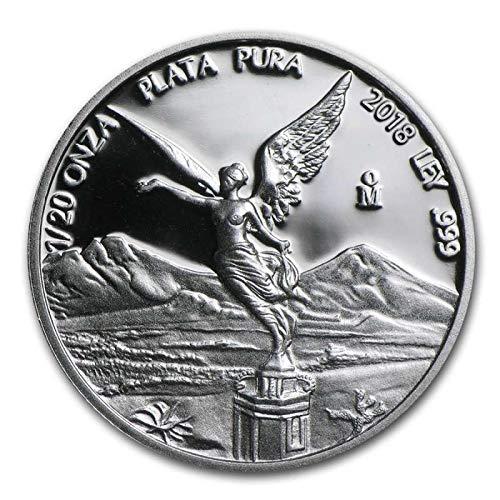 2018 MX Mexico Silver Libertad Commemorative Ungraded ()