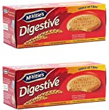 McVitie's Original Digestive Imported Wheat Biscuit, 400g (Pack of 2)