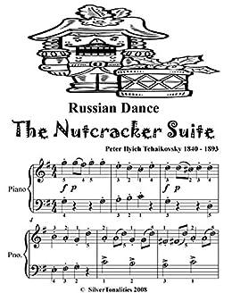Russian Dance The Nutcracker Suite Easy Piano Sheet Music