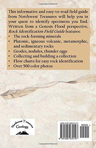 rock identification field guide patrick nurre 9781495270147