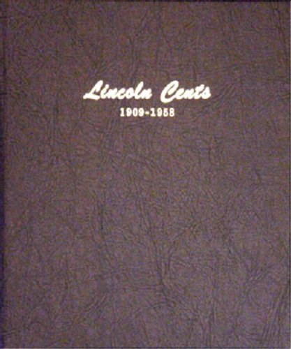 Dansco Coin Album #7103 for Lincoln Cents: 1909-1958