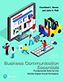 Book Cover for Business Communication Essentials: Fundamental Skills for the Mobile-Digital-Social Workplace (8th Edition) (What's New in Business Communication)