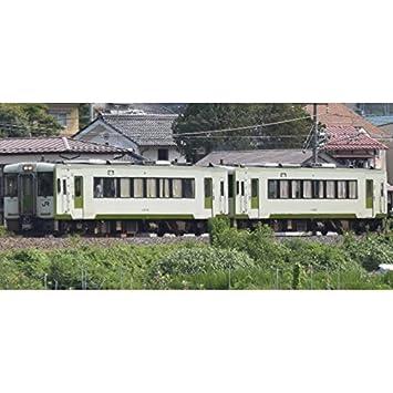 N calibrar 30587 JR KIHA 110 forma (No. 200 cargos, Iiyama Line) el conjunto del tren 2-car (con alimentacioen): Amazon.es: Juguetes y juegos
