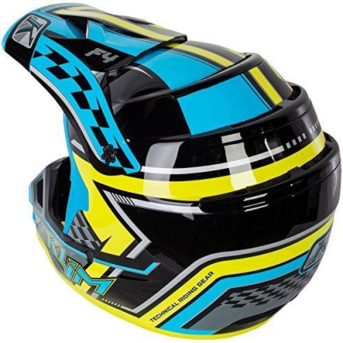 Klim ECE Men's F4 Motocross Motorcycle Helmet - Legacy Voltage/Large
