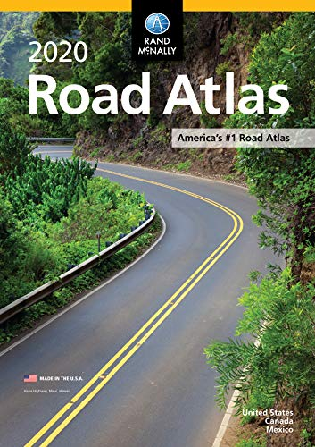 Rand McNally 2020 Road Atlas (Best American Cars 2019)