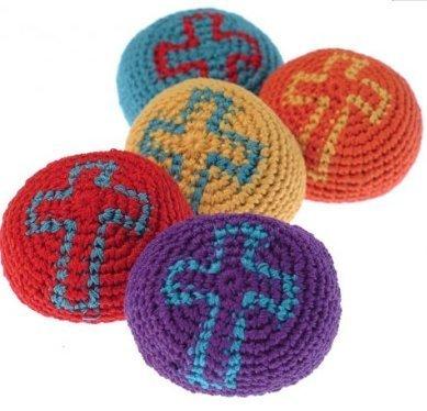 24 UST Religious Kickballs ~ Inspirational Toy ~
