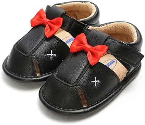 381cbfb26 Infant Shoes Boat Shoes Bowknot Summer Rubber Sandals First Walkers Non  Slip First Shoes Memela