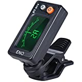 ammoon eno ET-31V Multi-function Clip-on Tuner Automatic Tuning Mode for Violin Viola Cello Double Bass Chromatic with LCD Display