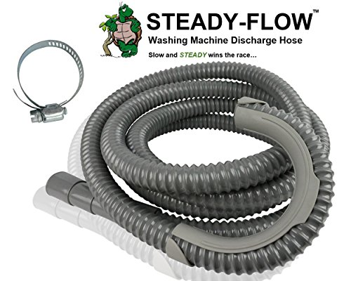 (STEADY-FLOW Washing Machine Discharge Hose - 12ft)