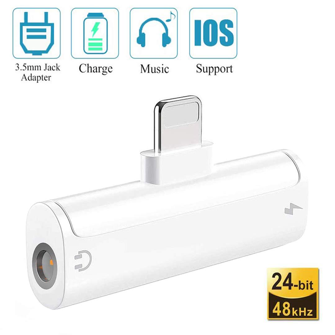 Adaptador para iPhone 7 Auriculares de 3.5 mm Jack Audio ...