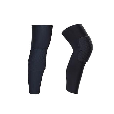 IULONEE Rodilleras Protectoras para Las piernas, 2 Paquetes Antideslizantes para Deportes de Voleibol Baloncesto Rodilleras Coderas Protectores de ...