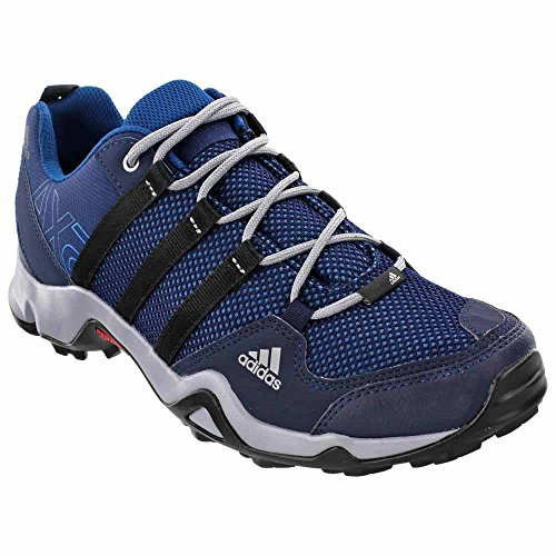 adidas outdoor AX2 Hiking Shoe - Men's Collegiate Navy/Black/Tech Steel, 10.0