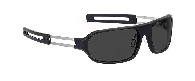 46 opinioni per Gunnar-Occhiali da sole, colore: marrone scuro, soldato con lenti colorate,