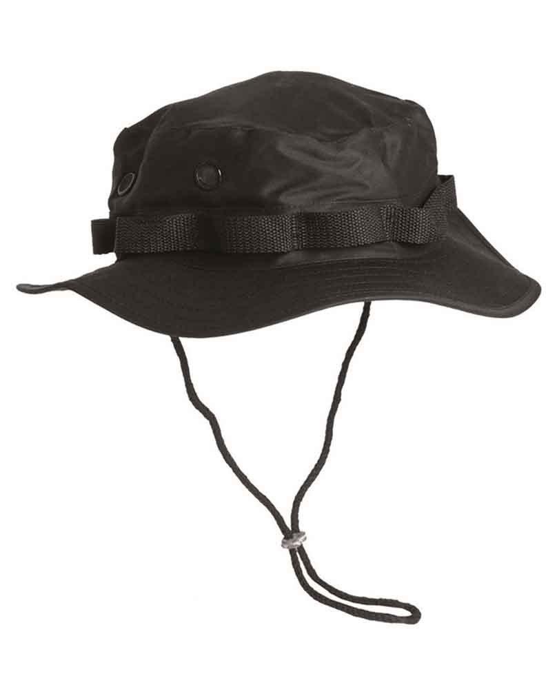 Mil-Tec Cappello della savana, giungla, colore: nero