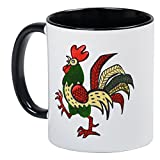 CafePress - Red Rooster Mug - Unique Coffee Mug, Coffee Cup
