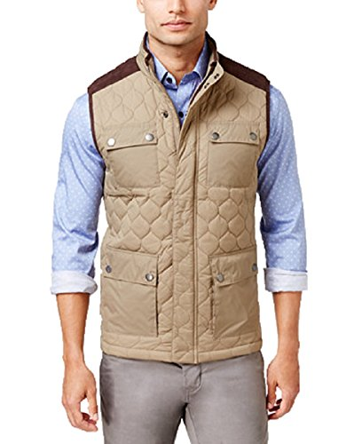 Quilted Faux Suede Vest - 3