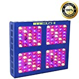 MEIZHI Reflector-Series 600W LED Grow Light Full Spectrum for Indoor Plants Veg and Flower - Dual Growth and Bloom Switches