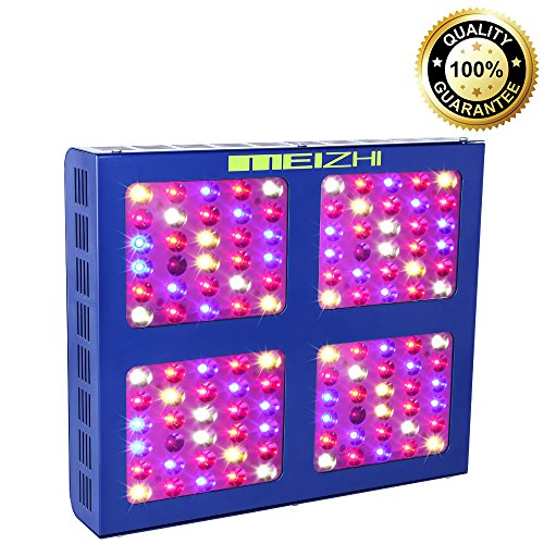 MEIZHI Reflector-Series 600W LED Grow Light Full Spectrum for Indoor Plants Veg and Flower - Dual Growth and Bloom Switches by MEIZHI