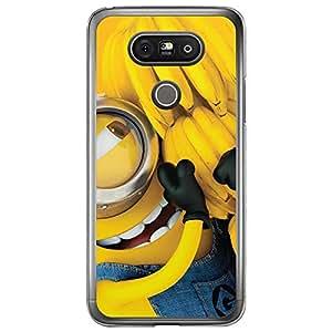 Loud Universe LG G5 Files Minion 10 Printed Transparent Edge Case - Multi Color