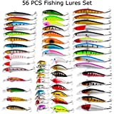 """TRUSCEND Fishing Bass Lures 4.9"""" Multi..."""