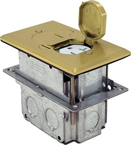 Orbit Industries FLB D BR Receptacle Adjustable